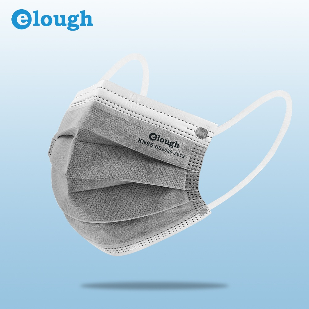 Elough HX-5C 10PCS/Pack Activated carbon 5Layers KN95 GB2626 Protective Mask